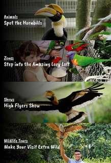 🚚 Jurong bird park ( Included tram)