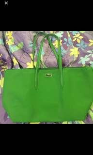 Lacoste Tote bag large (green)
