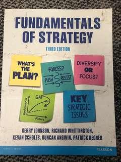 Fundamentals of strategy (fixed prices)