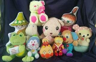 Take all Japan stuffed toys all clean