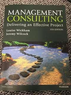 Management consulting (fixed price)