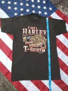 T-SHIRT MOTOR HARLEY DAVIDSON CYCLE VINTAGE