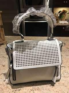 Aldo White Side Bag- never used