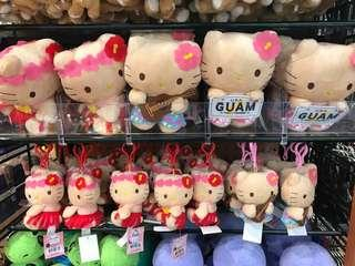 Hello Kitty Guam 關島公仔