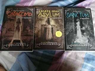 ASYLUM SERIES BOOK BOOK 2,3 AND PREQUEL