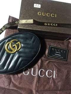 Platinum gucci bag belt