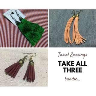 Tassel Earrings Bundle