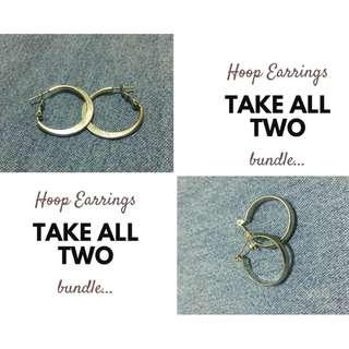 Hoop Earrings Bundle