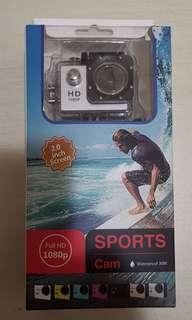 Sport Camera Waterproof Up to 30m