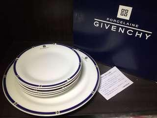 Givenchy platter and saucer plates