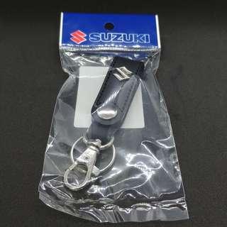 Suzuki 鈴木 原廠皮製匙扣(日本製)