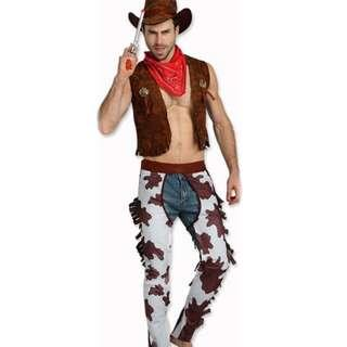 Toy Story Cowboy Cowgirl Halloween Year End Party Costume Rental