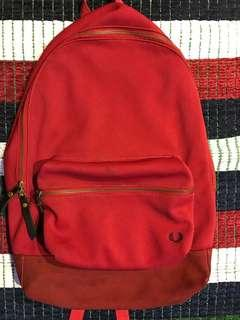 Fred Perry Pique Backpack Rucksack