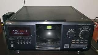Sony 300 Disc changer CDP CX355
