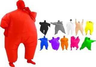 Inflatable chub suit