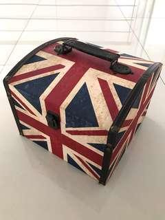 Kotak Koper Bendera Inggris / Union Jack / Vintage