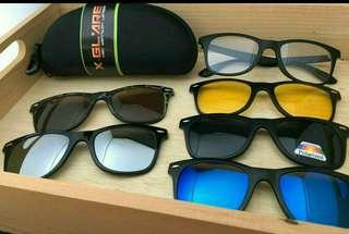 Special promotion offer! 5 interchangeable shades for the price of one!