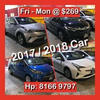 Holiday Weekday / Weekend Car Rental
