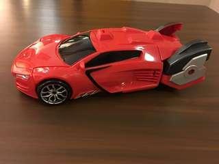 Kids transformers car