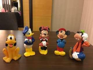 90% New Disney display toys