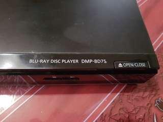 Panasonic bluray player dmp bd75