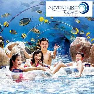 Adventure Cove Waterpark tickets adult open date acw