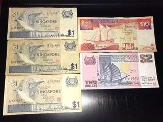 Singapore notes