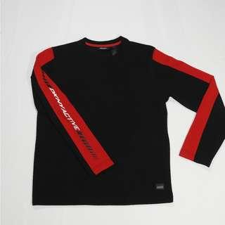 Red line DKNY active long sleeve