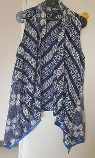 Batik outware blue