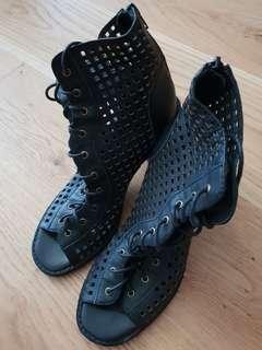 Mollini Black Heels Sz 37