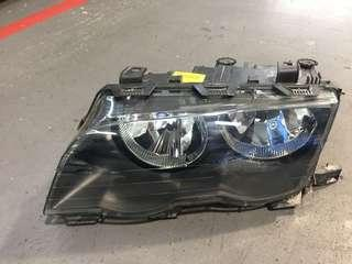 BMW E 46 front left head lamp for sale