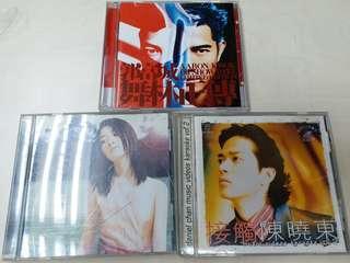郭富城、陳慧琳、陳曉東原裝CD