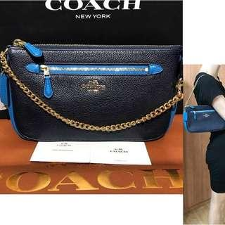 BNWT AUTHENTIC COACH 65015 XXXL WRISTLET SMALL- MEDIUM SHOULDER BAG ( USUAL PRICE USD175)