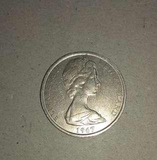 新世蘭舊硬币