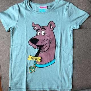 Cotton on scooby doo shirt Size 5