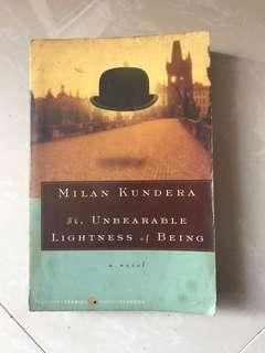 Milan Kundera - The Unbearable Lightness of Being