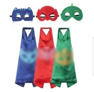 PJ Mask Cape and Mask Set(70cm)