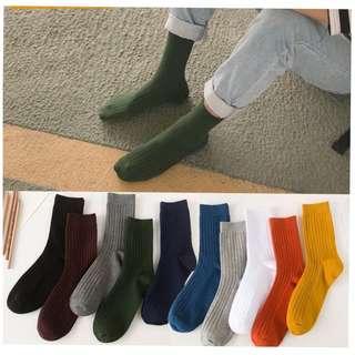 Men Work Socks Office Shoes