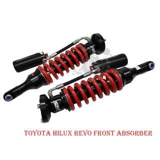 RED SPRINGS (RS-PRO60) OFF ROAD SUSPENSION FULL KIT & LEAF SPRINGS FOR TOYOTA HILUX REVO/VIGO/ROCCO