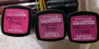Maybelline COLORSHOW Lipcolor
