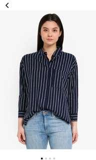 Cotton on strips shirt