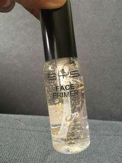 BYS face primer with gold flakes