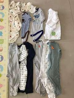 3個月~9個月的衣服全部