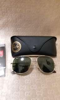 Ray Ban Rb 3581,gold frame g 15 classic green lens