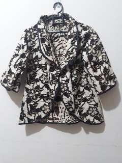 blazer batik 2 motif
