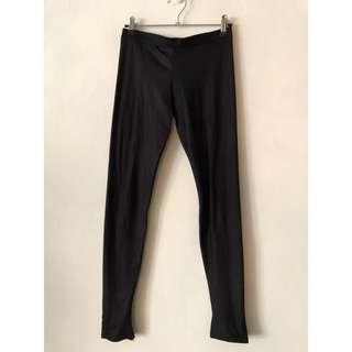 🚚 踩腳內搭褲 加寬腰帶超彈性顯瘦光澤長褲 打底褲 內搭長褲
