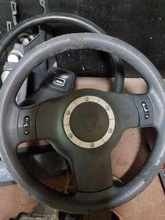 Saga blm steering wheel