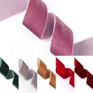 Assorted velvet ribbon