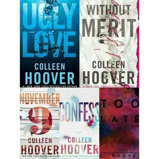 Ebook Novel Satuan Colleen Hoover