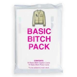 what do you meme basic bitch pack Party Card Game